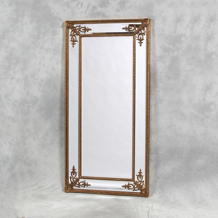 Elegant dressing mirror gold for Elegant mirrors